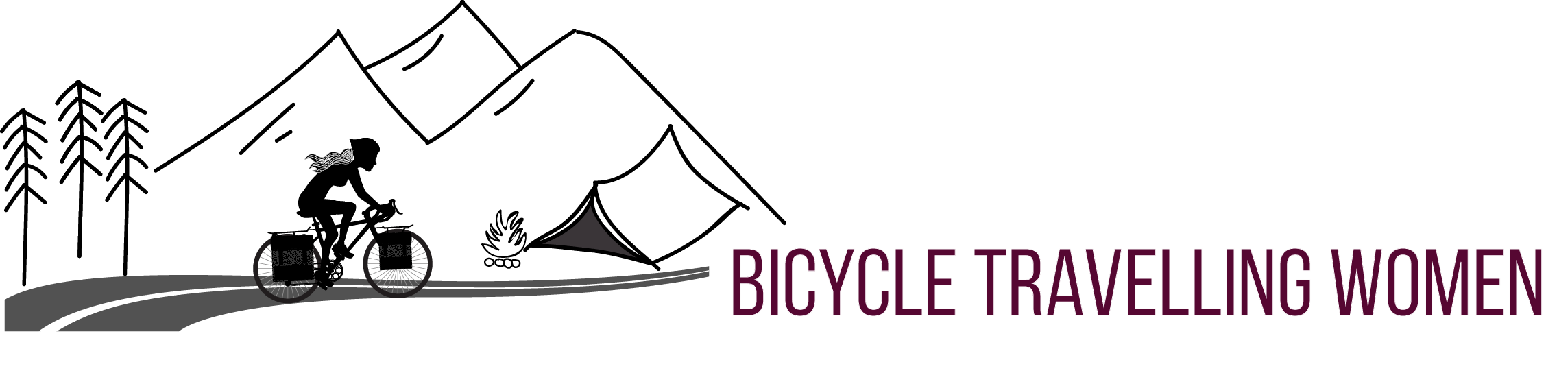 Bicycle Travelling Women